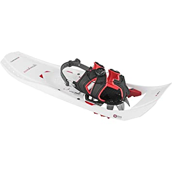 Louis Garneau HG de la mujer Everest raquetas, mujer, blanco y rojo