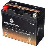 CB CHROMEBATTERY YT12B-BS High Performance - Maintenance Free - Sealed AGM Motorcycle Battery