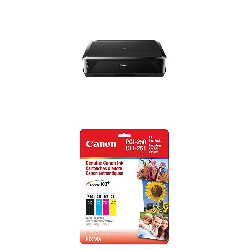 Canon PIXMA iP7220 Wireless Inkjet Colour Photo Printer 6219B003 Printers