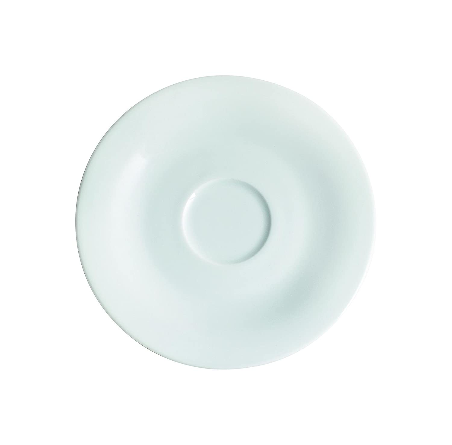 Kahla Pronto Saucer for Cups, Saucer, Cup Saucer, Underplate, Ø 12 cm, White, 203501A90020C Ø 12 cm