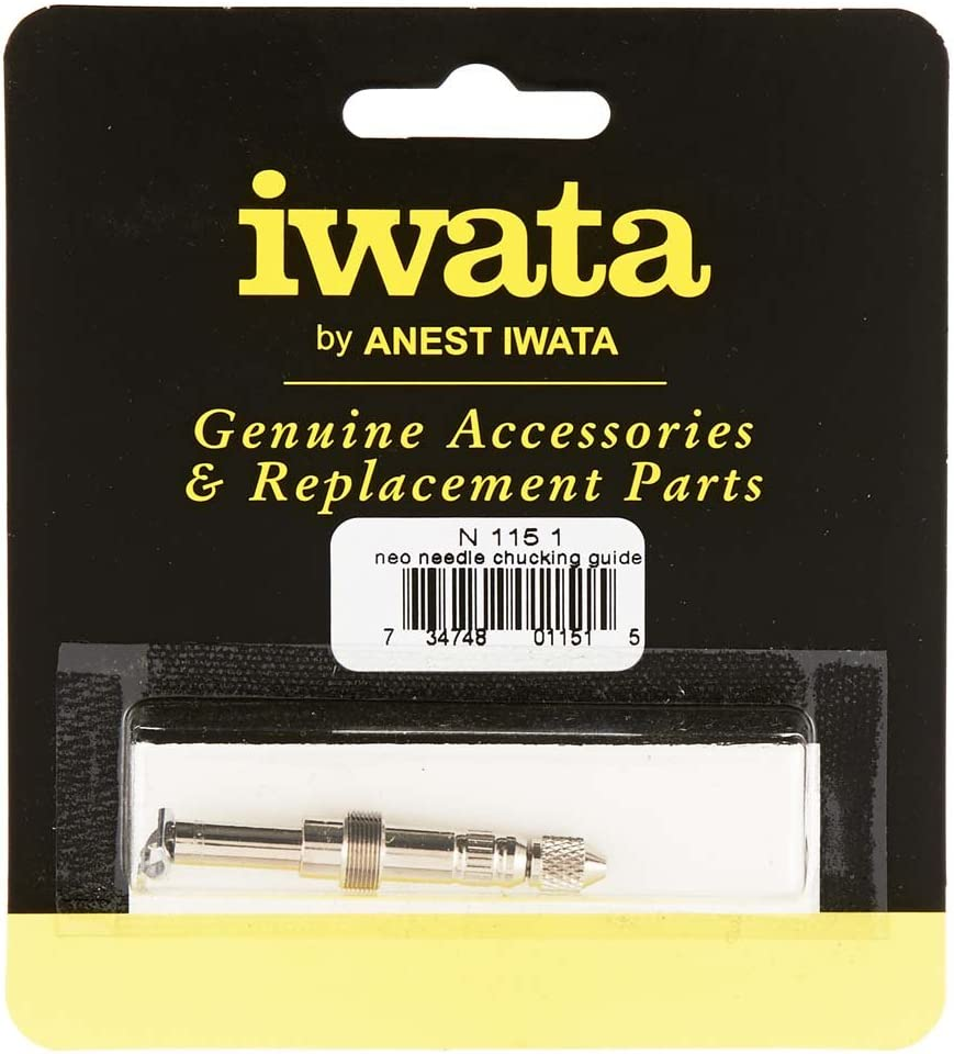 Iwata-Medea N1151 Needle Chucking Guide Assembly, Silver