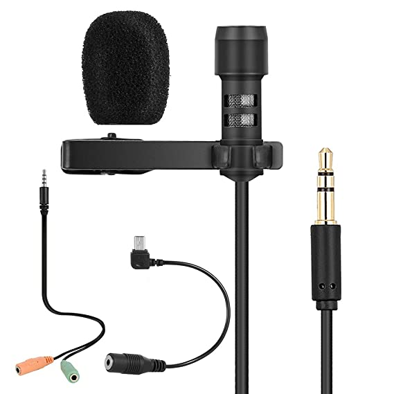 Usb omnidirectional wired microphone mic chat studio gaming pc.