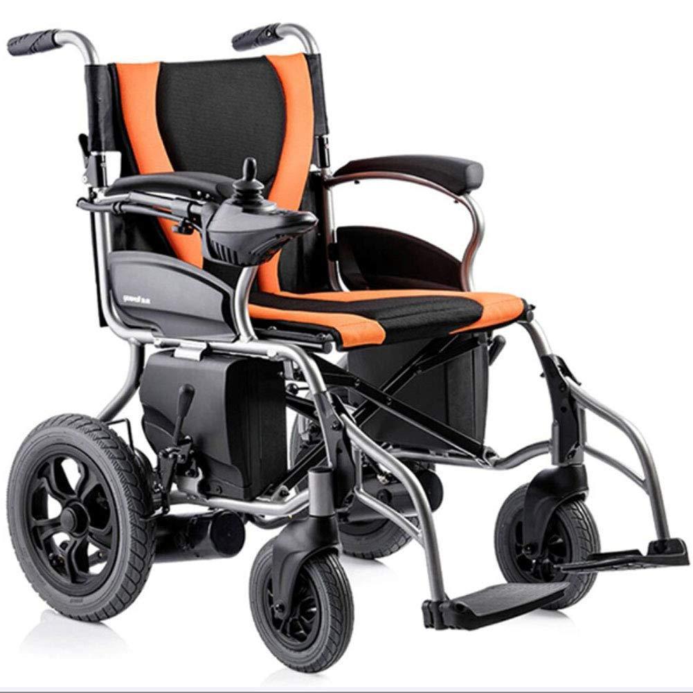 Silla de ruedas eléctrica plegable ligera, silla de ruedas para ...