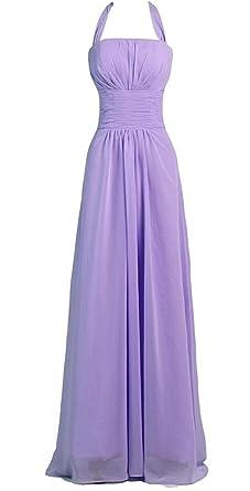 Endofjune Simple Chiffon Homecoming Prom Dress US-18 Lavender