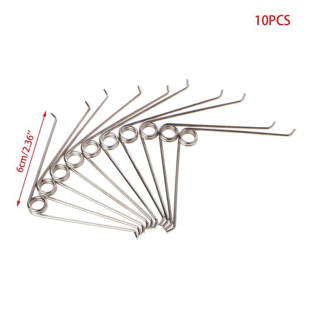 JENOR 10 unidades Tijeras de compresi/ón de acero en forma de V
