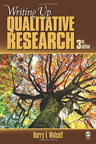 Top writing up qualitative research harry wolcott