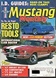 Mustang Monthly October 1993 Magazine 1967 SHELBY GT-350 1965 Convertible 1971 351 MACH 1 1969 Grande NEW - 5.0 POWER SECTION