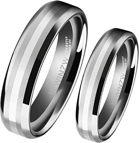 Stainless Steel Wedding Band Ring Zipper Rings Unique Designed For Women