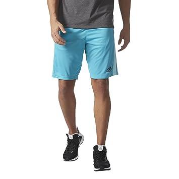 Adidas D2M 3 stripes Pantaloncini Shorts Hose Herren Schwarz mit Taschen 2017