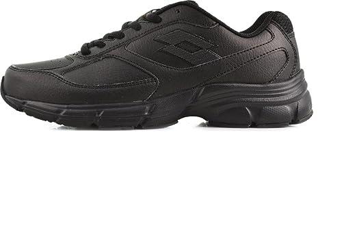 Lotto Antares IX LTH W, Zapatillas de Running Mujer, Negro / Gris (Blk