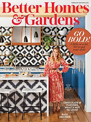 Magazines : Better Homes and Gardens