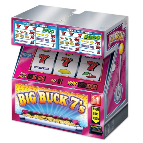 Beistle 54801 Tabletop Slot Machine, 17 by 19 by 10-Inch