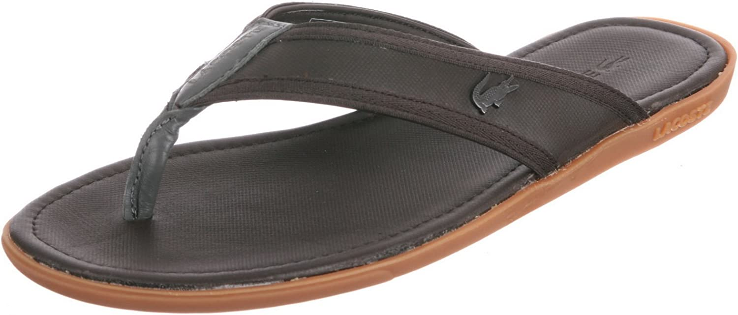 Lacoste Carros 5 Mens Brown Leather