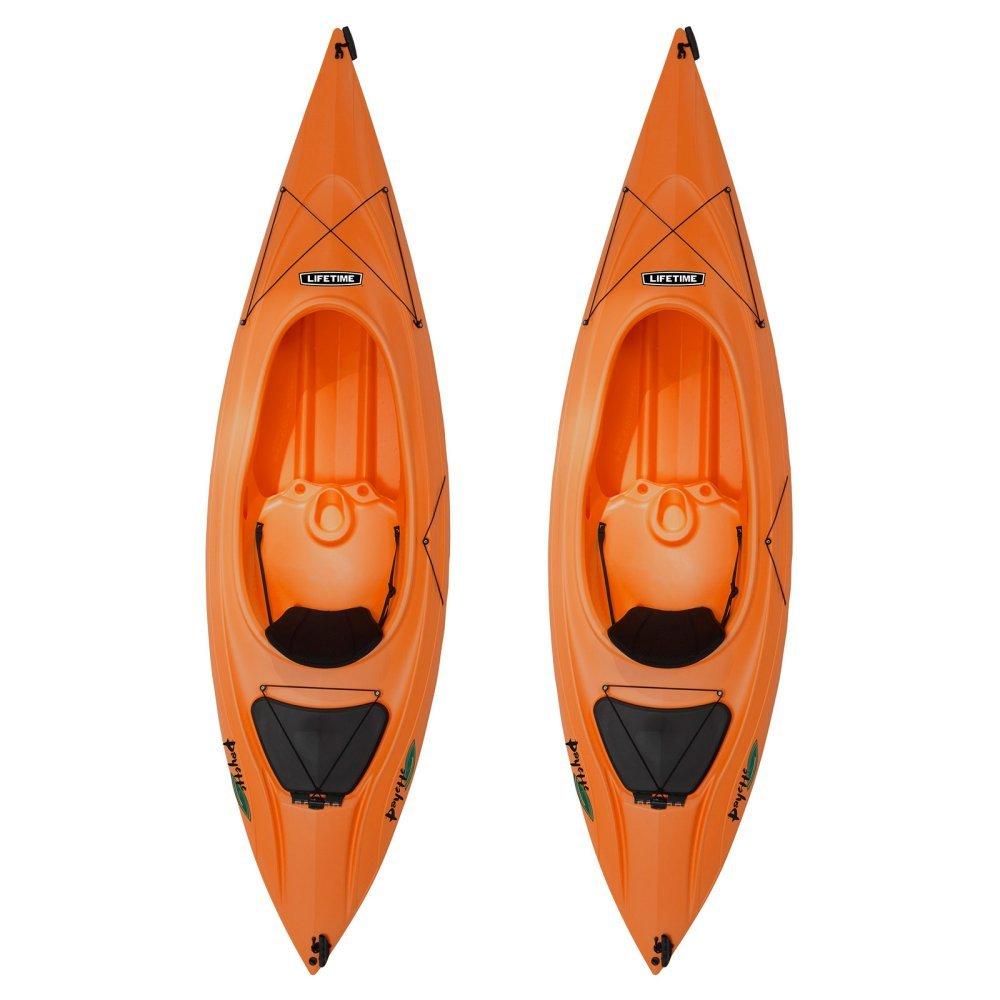 Lifetime Sit In Kayak, Payette 116 - Orange, Set of 2