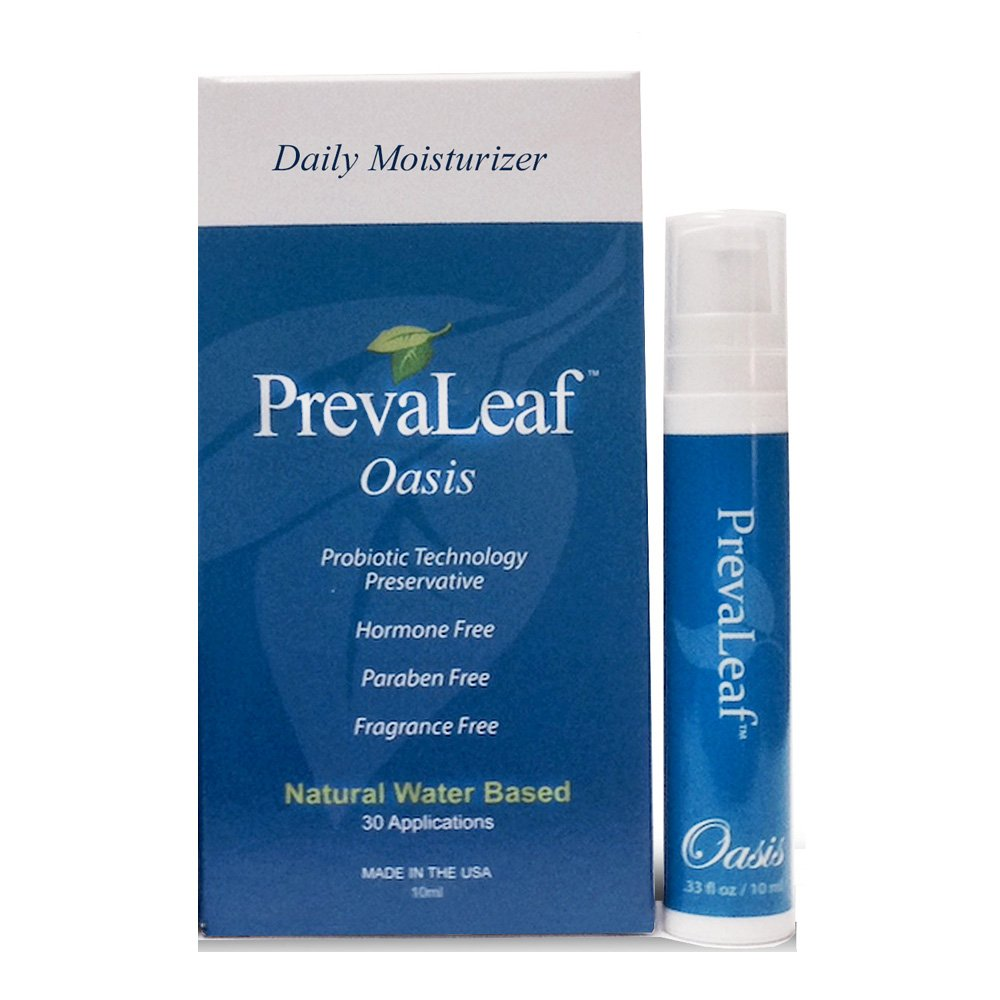 PrevaLeaf Oasis Natural Daily Vaginal Moisturizer with Probiotic Technology Travel Size