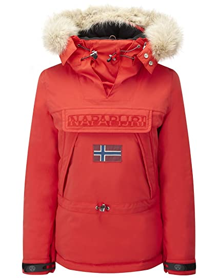Napapijri Skidoo Red Hot - Abrigo de mujer, rojo, XX-Large
