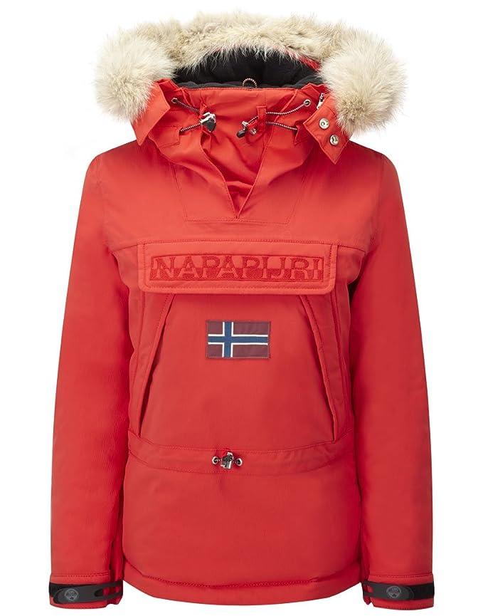 Napapijri Skidoo Red Hot - Abrigo de mujer, rojo, Medium: Amazon.es: Deportes y aire libre