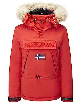 Napapijri Skidoo Red Hot - Abrigo de mujer, rojo, XX-Large: Amazon.es: Deportes y aire libre