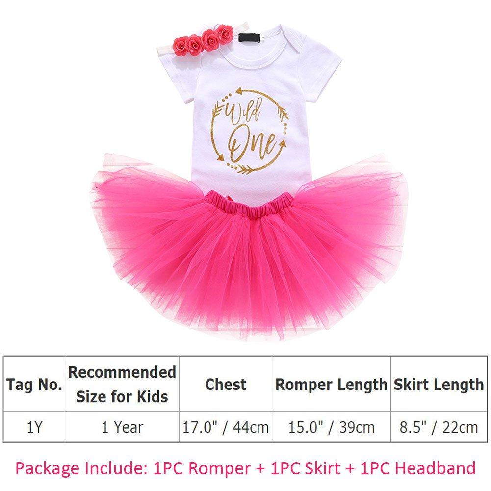 8a4f5fe796564 OwlFay Wild/Unicorn/Ladybug One Year Baby Girls 1st Birthday Dress Tutu  Outfits Cotton One Piece Tutu Romper Skirt Princess Party Dress Cake Smash  Outfit ...
