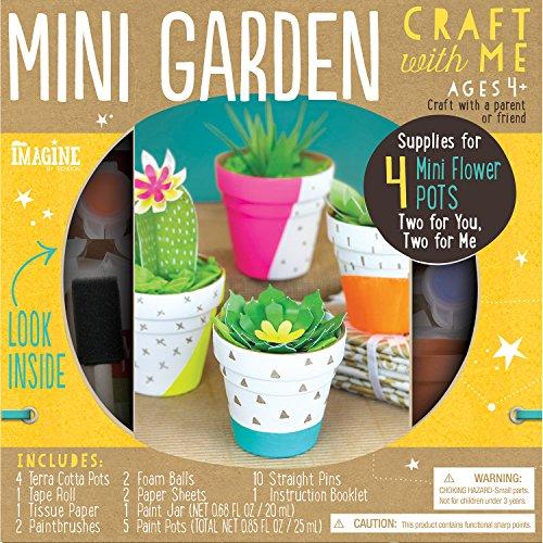 Imagine by Bendon Craft With Me Mini Garden Craft Kit (63820) (Garden Kit Craft)