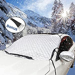 "Car Windshield Ice and Snow Cover for Most of Cars Car Windshield Covers in Winter 71""(W) X 42""(H)"