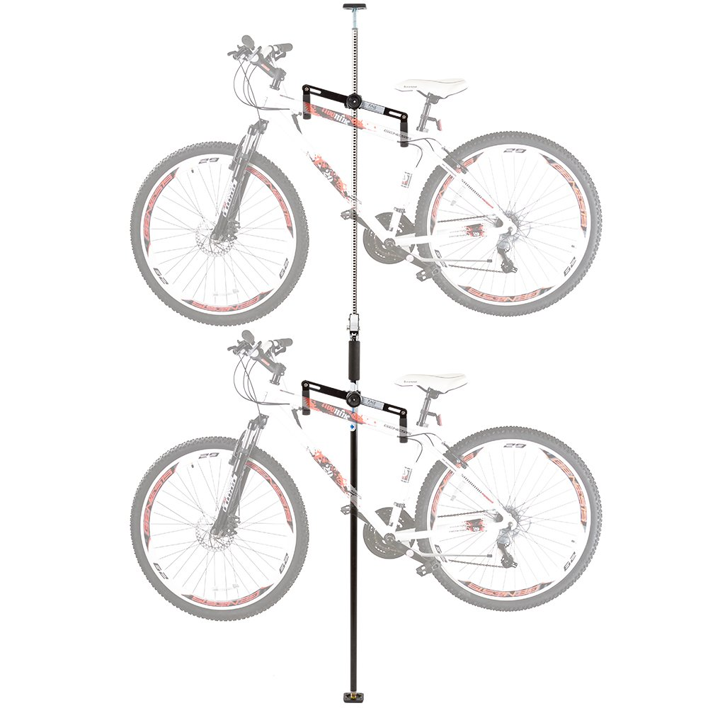 High Quality Amazon.com : Double Vertical Bicycle Storage Hanger Rack For Garages Or  Apartments : Indoor Bike Storage : Sports U0026 Outdoors