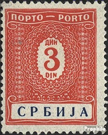 Prophila Collection Serbia (alemán.ocupación.2.Guerra Mundial.) p11 1942 Los Sellos de Correos (Sellos para los coleccionistas): Amazon.es: Juguetes y juegos