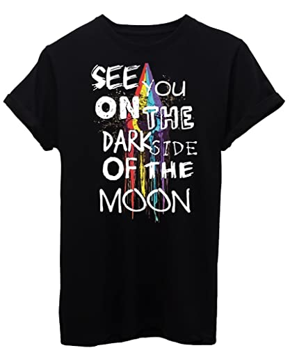 T-Shirt SEE YOU ON THE DARK SIDE OF THE MOON - MUSICA - by iMage