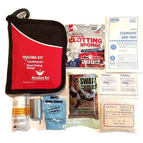 ResQue1st Emergency QuikClot Clotting Tourniquet product image