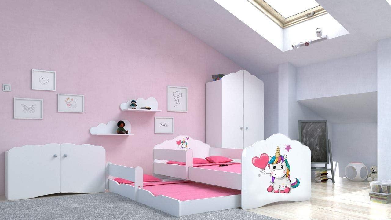 Lux4kids Angelbeds cama doble para niños pequeños 15 motivos ...