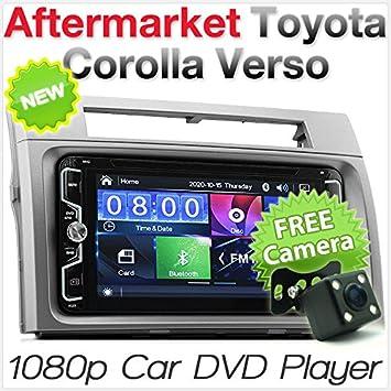 Reproductor de DVD MP3 para Coche Toyota Corolla Verso 2004: Amazon.es: Electrónica