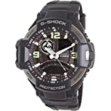 Casio G-Shock Black And Silver Gravity Defier Ga1000-1B Watch