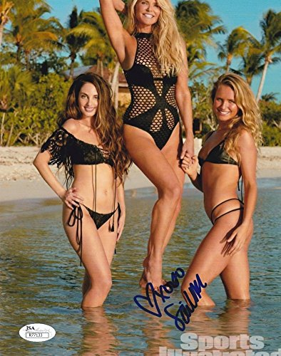 Sailor Brinkley Cook Sports Illustrated Swimsuit Model Signed 8X10 Photograph Jsa 4