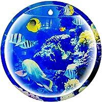 Acrílico Fish Tank Bowl Montado En La Pared