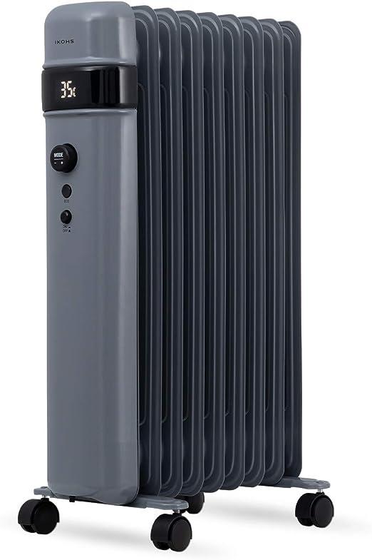 IKOHS ORH2000 - Radiador de Aceite (Gris): Amazon.es: Hogar