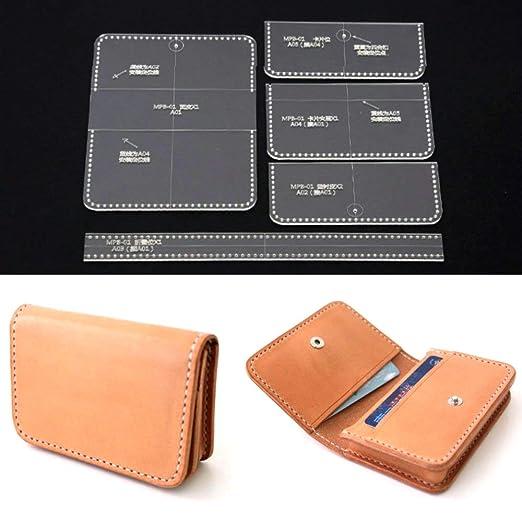 PANINA 5 piezas acrílico transparente tarjeta bolso cartera ...
