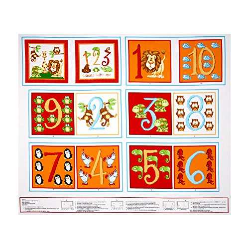 """Little Readers~123 Count With Me Book Panel 35""""x 44"""", used for sale  Delivered anywhere in USA"""