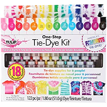 Amazoncom Tulip One Step 12 Color Tie Dye Kit Super Big Arts