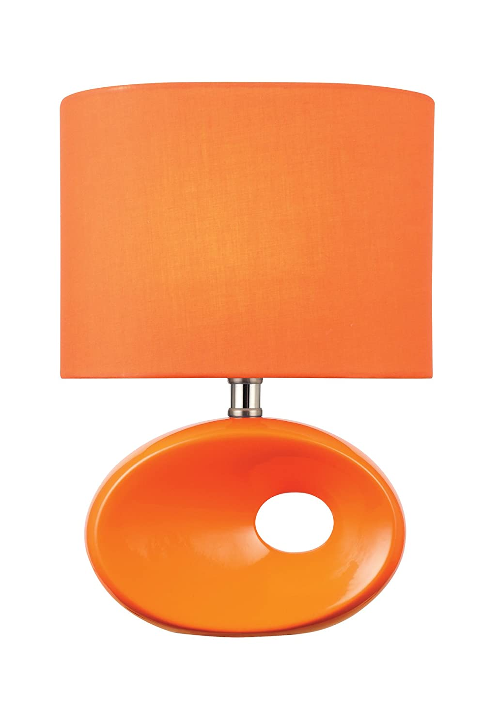 lamp lamps glass venini orange table