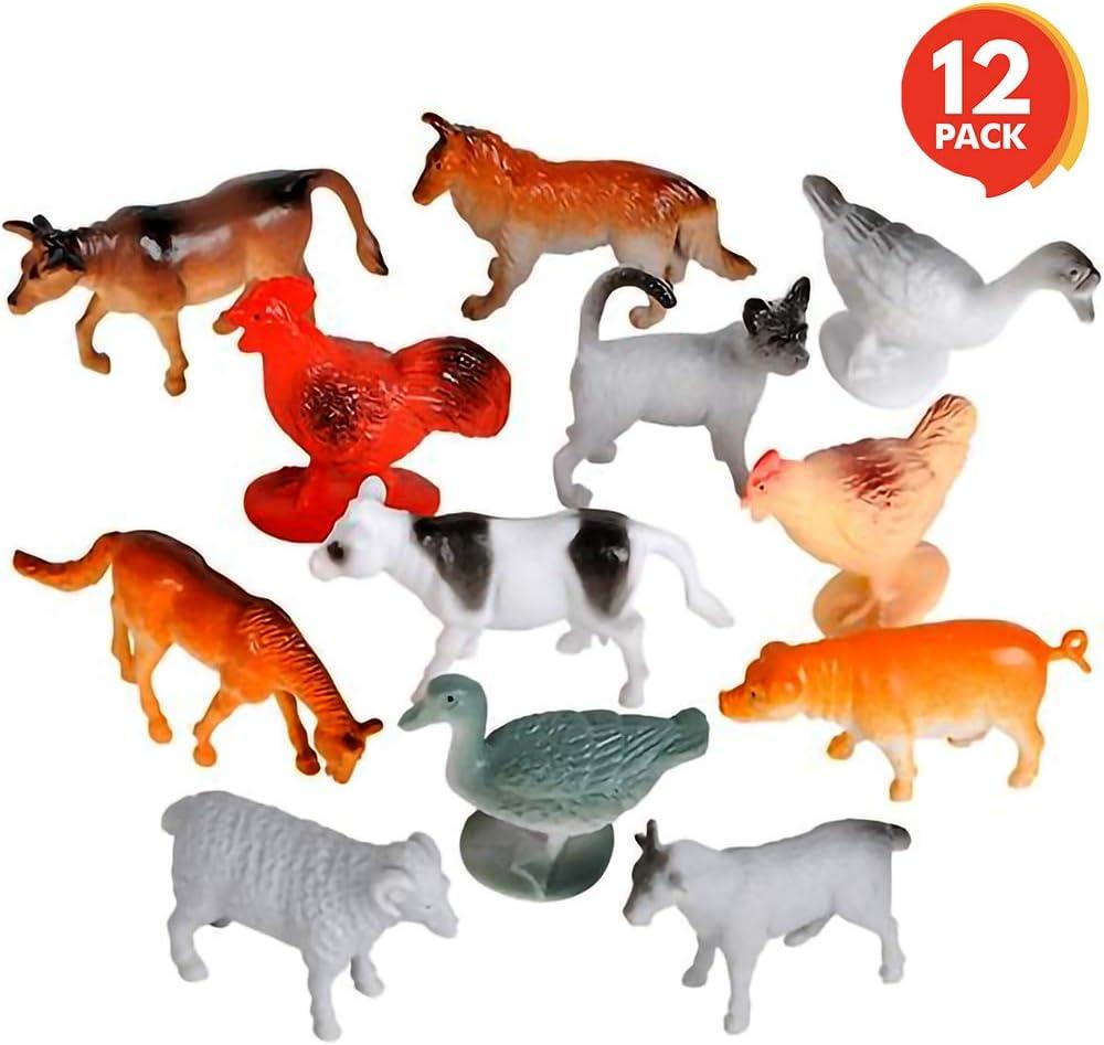 Wild Republic Farm Animals 5 Different Farmyard Figurines **FREE DELIVERY**