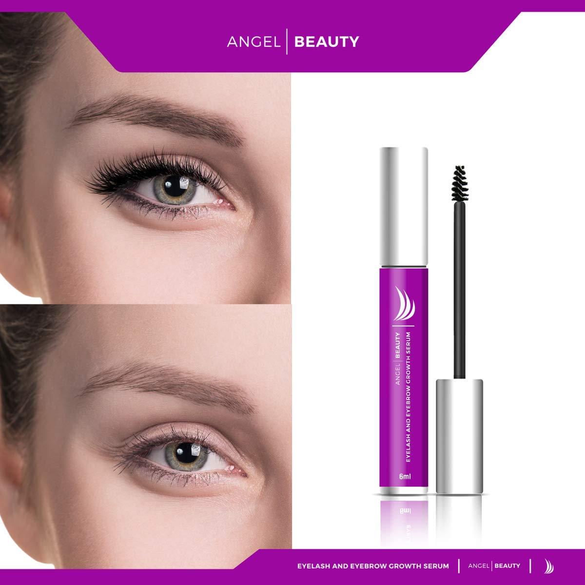 1bc5ebf1379 Amazon.com: Eyelash Growth Serum, Eyelash Growth, Eyelash Growth Treatment  - Eyelash and Eyebrow Growth Serum By Angel Beauty - Unisex, Keratinocytes,  ...
