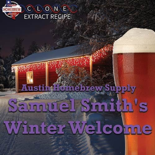 (Austin Homebrew Clone Recipe Samuel Smiths Winter Welcome (14A) - EXTRACT)