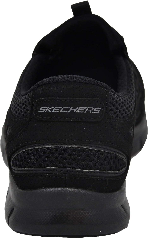 Skechers Gratis - Chic Craze, Baskets Enfiler Femme Noir