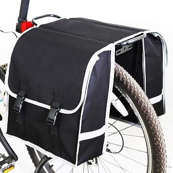 YUYAXBG Bolso para Bicicleta Gran Capacidad 2 En 1 Bolsa De Sillín ...