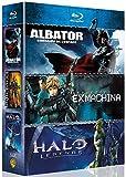 Albator, Corsaire De L'espace + Appleseed Ex Machina + Halo Legends (coffret Animation Japonaise) [Blu-ray]