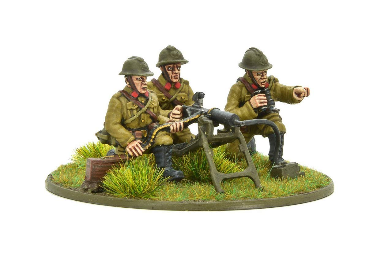 Belgian Army Mmg Team Warlord Games