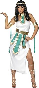 NET TOYS Disfraz de Reina Cleopatra Traje Diosa egipcia señora ...
