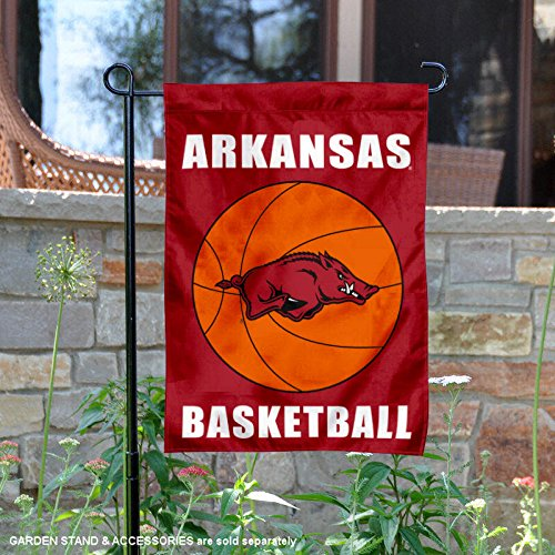 Flag Arkansas Razorbacks Banner (College Flags and Banners Co. Arkansas Razorbacks Basketball Garden Flag)