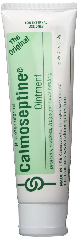 Calmoseptine Diaper Rash Ointment Tube, (Pack of 6) by Calmoseptine