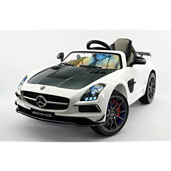 Amazon Com 2018 Mercedes Sls Amg Final Edition 12v Kids Ride On Car